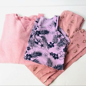 Justice play clothes bundle 3 piece girls 14/16
